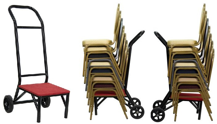 value stacking chair hand truck