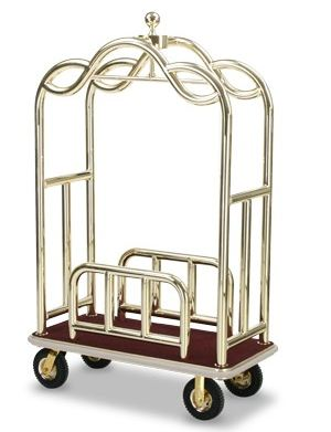 Luxurious Bellman Carts $3000 And Up