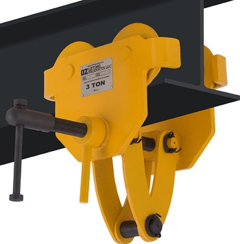 Beam Trolleys with Clamps