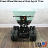 4 Wheel Power Drive and Dump Wheel Barrow - 10 Cubic Foot  thumbnail