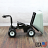 4 Wheel Power Drive Wheel Barrow with 8 Cubic Foot Dump Hopper thumbnail