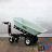 9 Cubic Ft Electric Dump Tray Cart with Power Dump thumbnail