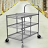 Collapsible Utility Cart With 3 Shelves 5 thumbnail