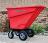 Motorized Dumping Cart - 13-1/2 Cubic Feet 400lb Capacity thumbnail