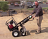 Electric Powered Transformer Hand Truck with Dual Fork thumbnail