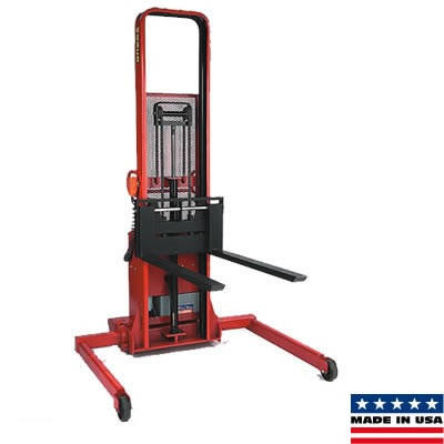 Wesco power stacker forklift style