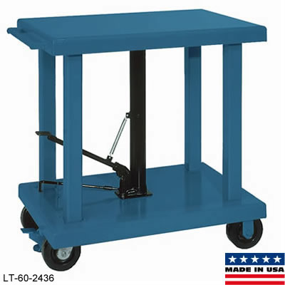 Hydraulic Foot Pump Lift Table-Medium Duty