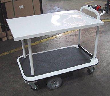 2 Shelf 26 Wide X 40 Long Motorized Platform Cart