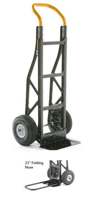 Harper Nylon 2 Wheel Hand Truck Handtrucks2go Com
