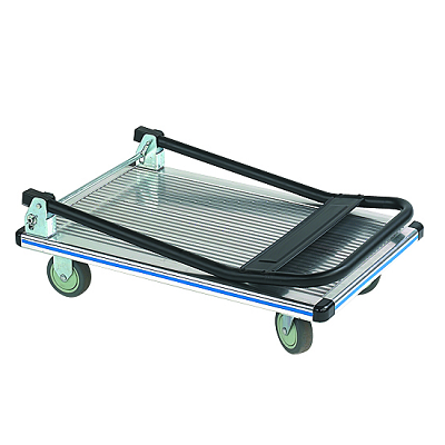 aluminum folding handle platform truck 2