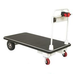 Motorized Electric Powered Platform 4 Wheel Cart