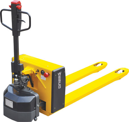 Heavy Duty Semi Electric Pallet Jack With Power Drive