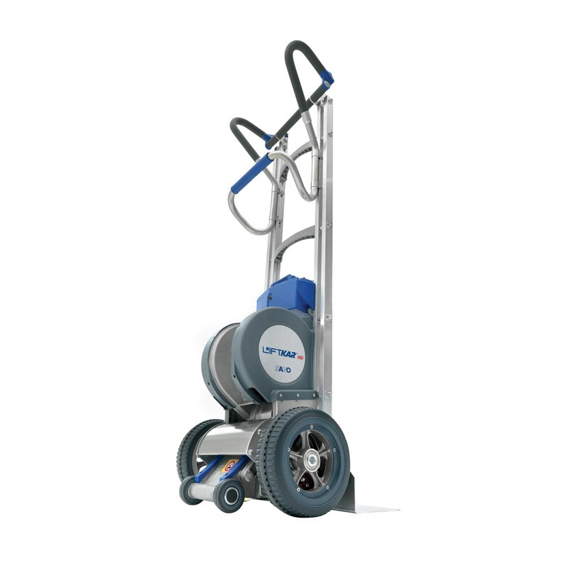 Electric heavy duty stair climber hand truck for Motorized hand truck dolly