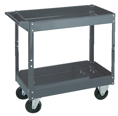 Steel Service Cart 2 Shelves