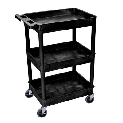 Tub Utility Cart 3 Shelves