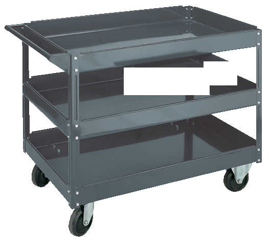 Steel Service Cart 3 Shelves