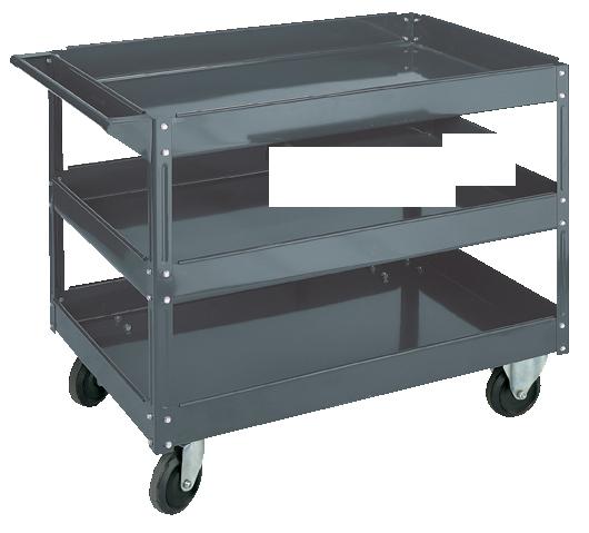 Steel Service Cart 3 Shelves