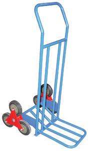Manual Stair Climber 3 Wheel Rotating Design