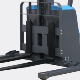 """141.7"""" Lift Fully Powered Electric Stacker With Adjustable Legs - 2600 lb Capacity thumbnail"""