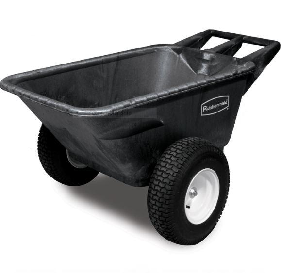 rubbermaid heavy duty garden cart with pneumatic wheels