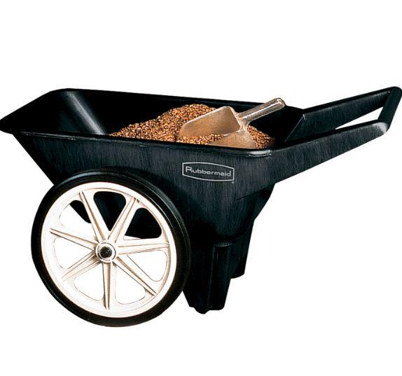 Elegant Rubbemaid Small Garden Cart