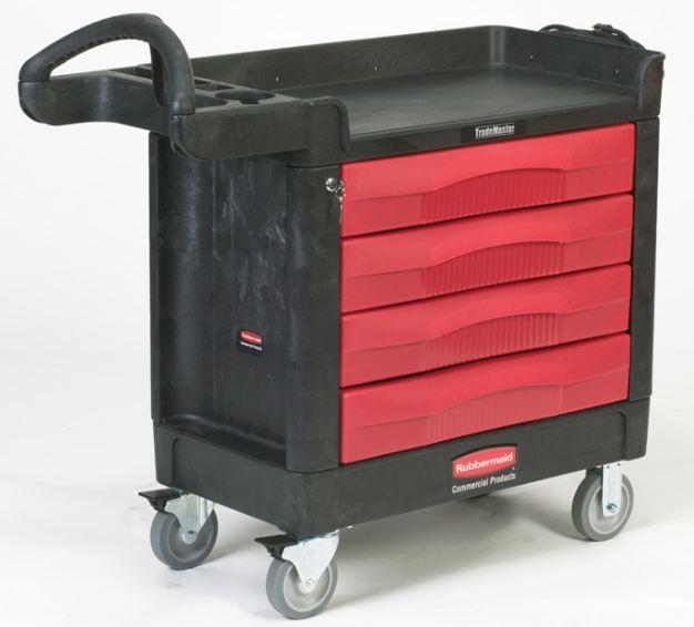 Portable Storage Carts : Drawer mobile storage cart handtrucks go