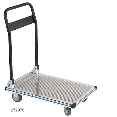 aluminum folding handle platform truck