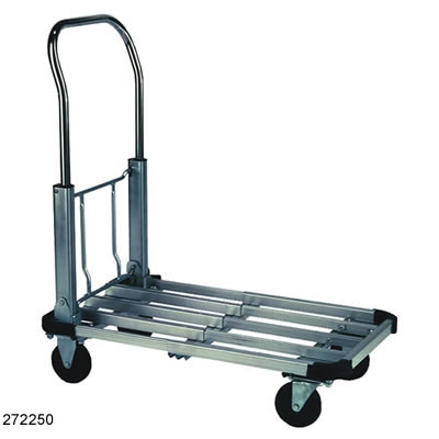folding collapsible platform hand truck