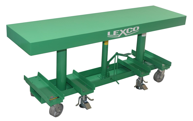 2 000 Lb 20 Quot W X 60 Quot L 30 Quot 48 Quot Lift Hydraulic Foot
