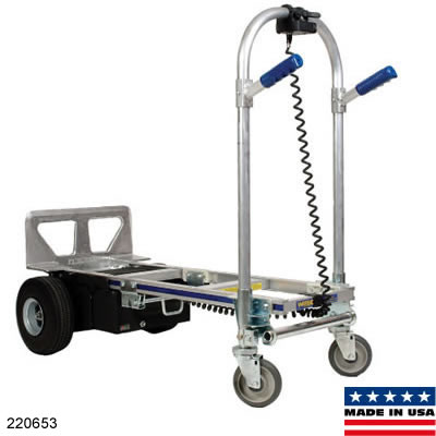 Electric folding hand truck for Motorized hand truck dolly