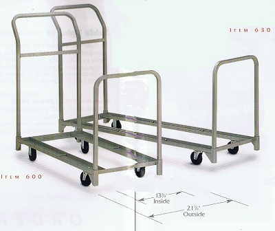 folding and stacking chair cart combination handtrucks2go
