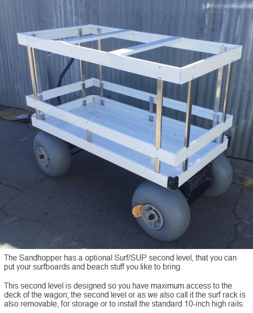 Motorized Beach Wagon 10