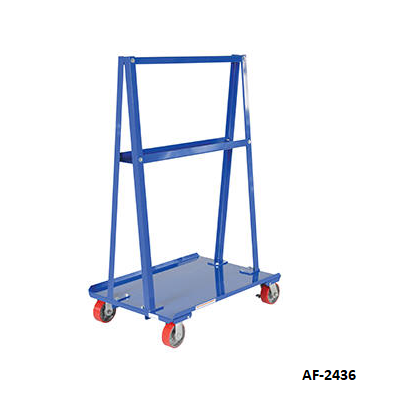 A Frame Cart For Drywall And Plywood