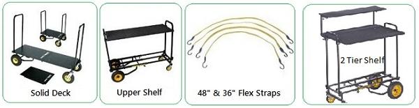 Rock N Roller Cart Accessories