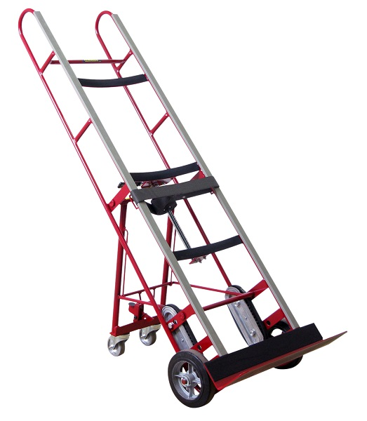 Black Trolley Dolly Stair Climber Foldable Grocery Cart