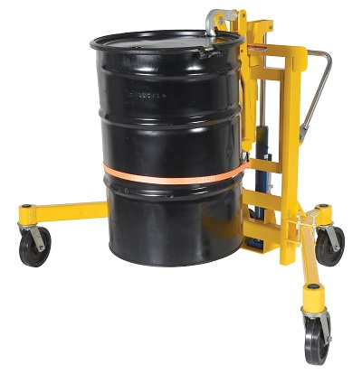 Drum Transporter and Lift - Foot Pump 2