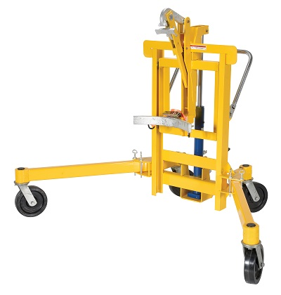 Drum Transporter and Lift - Foot Pump 3