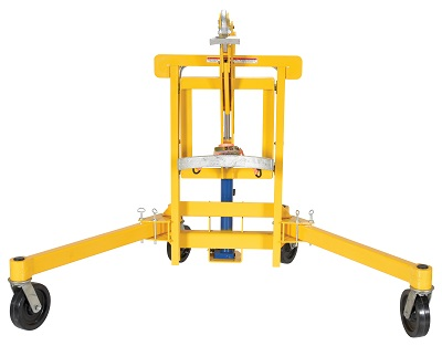 Drum Transporter and Lift - Foot Pump 4