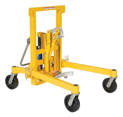 Drum Transporter and Lift - Foot Pump 5