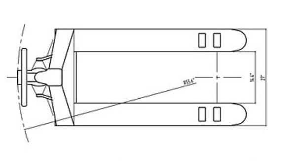 Ekko 4400lbs Manual Pallet Jack 27