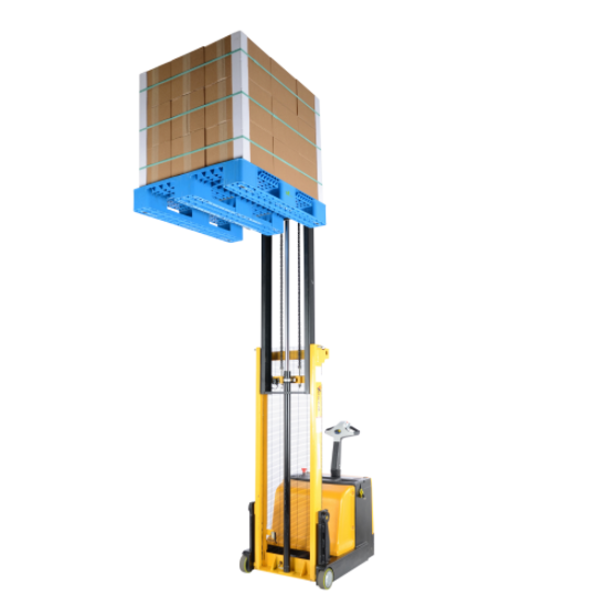 Electric Drive and Lift Counter Balance Stacker Lift Truck 4