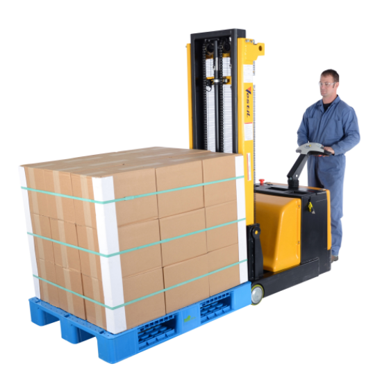Electric Drive and Lift Counter Balance Stacker Lift Truck 5