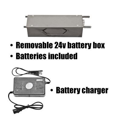 Wheelbarrow Battery