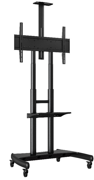 adjustable height large up to 80 capacity lcd tv stand. Black Bedroom Furniture Sets. Home Design Ideas