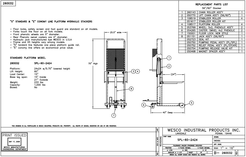 Hydraulic Stacker 2