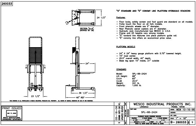 Hydraulic Stacker 3
