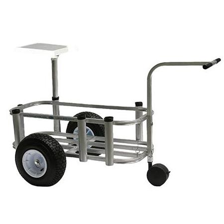 Reels on wheels cpi designs fishing cart junior model for Fish n mate cart