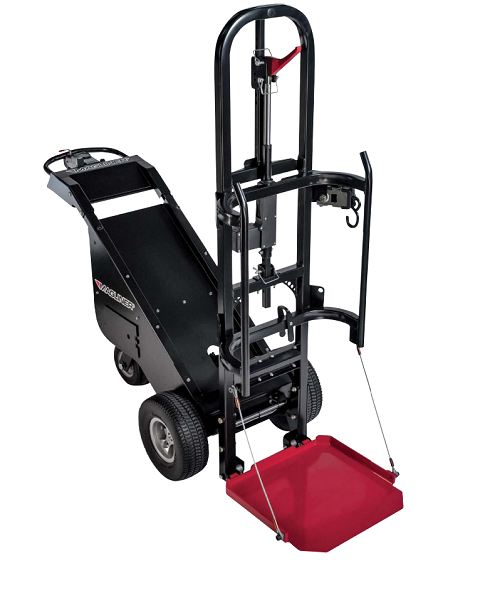Electric powered dewar cart for Motorized hand truck dolly