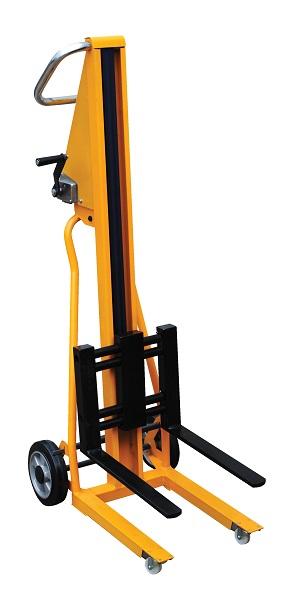 mini lightweight portable fork lift truck stackers. Black Bedroom Furniture Sets. Home Design Ideas