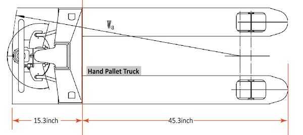 NOBLELIFT Edge Electric Pallet Jack 3300 lbs Capacity